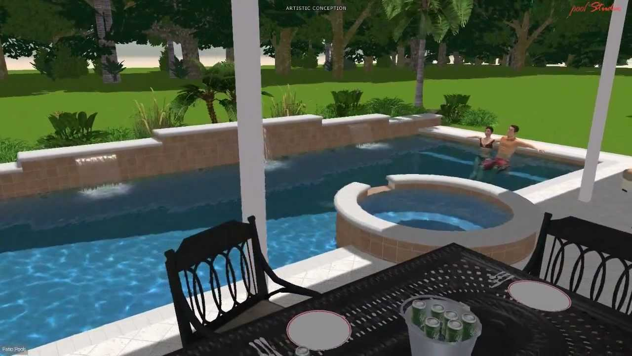 High Quality Patio Pools Tampa Florida Est. 1979 Custom Inground Swimming Pool Builder /  Contractor