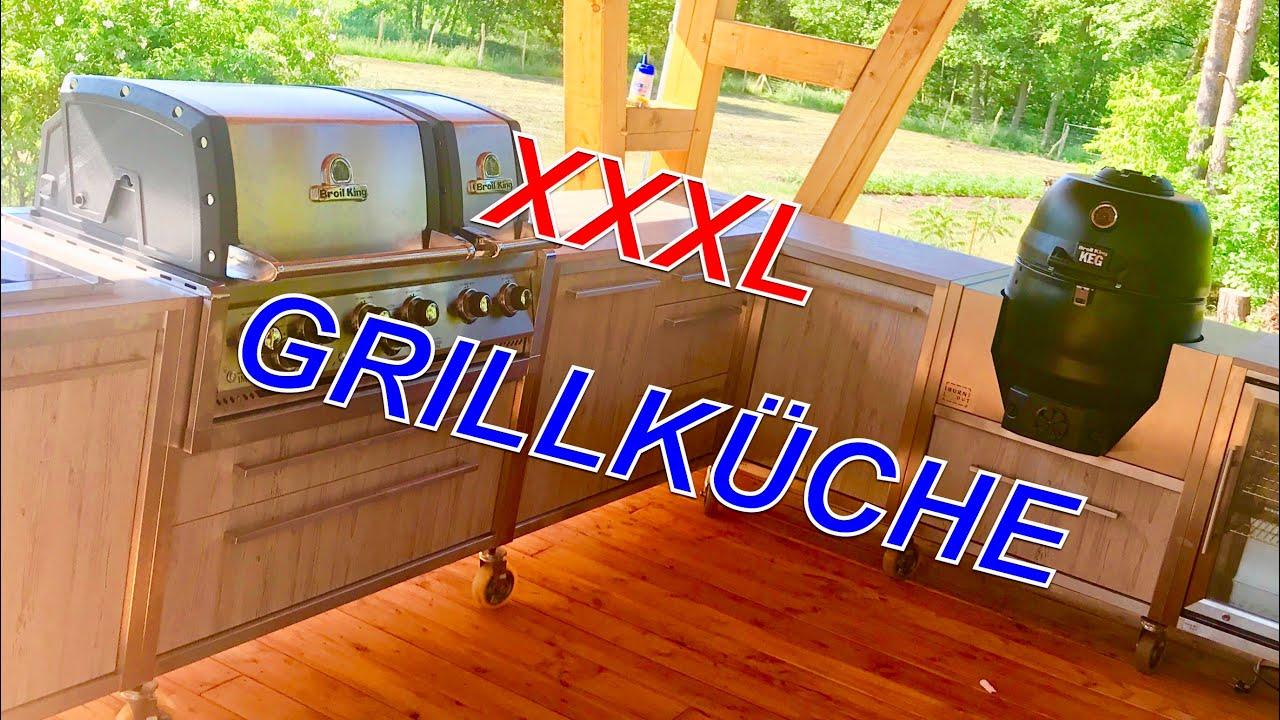 Meine Neue Xxxl Aussenkuche Broil King Vs Burnout Kitchen Klaus Grillt