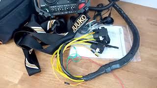 Radio remote JUUKO 24 V HS-20004PE WITH 2 joysticks on off video