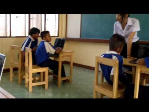 การสอนภาษาไทยกับความพอเพียง นศ PBRU.wmv