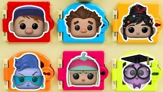 Ralph Breaks the Internet Trapped Doors - Wreck it Ralph 2 Surprise Toys