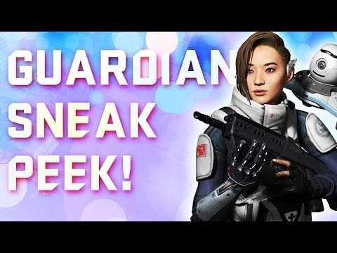 GUARDIAN IS HERE!! (Dirty Bomb's NEWEST Merc)