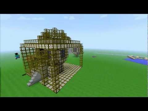 MCraft Nuclear Reactor Time-Lapse Ядерный реактор