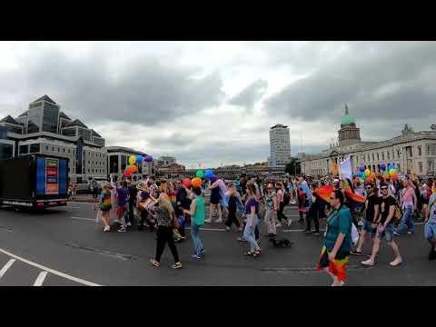 Dublin LGBTQ Pride 2019 Dublin Pride Parade & Merrion Square. Дублин, Ирландия. ORANGE Ua