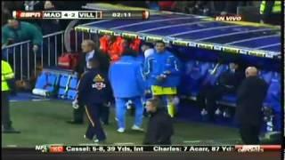 Mourinho's goal celebration makes Villarreal see red [HQ]