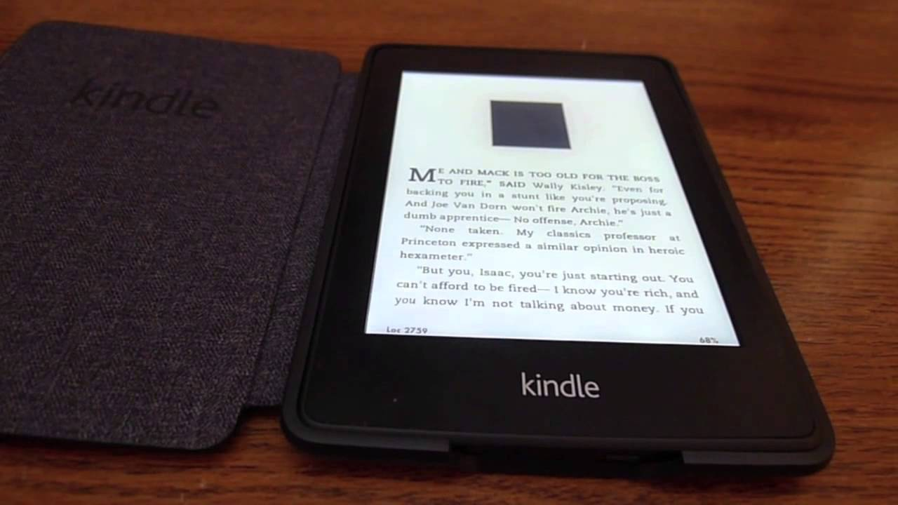 how to close kindle paperwhite