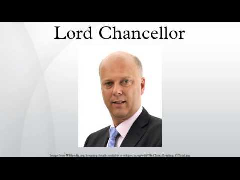 Lord Chancellor