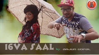 16 Va Saal By Arjun Gopal | Latest Pahari Hit Song 2015 | Naati Blast On The Floor | Music HunterZ