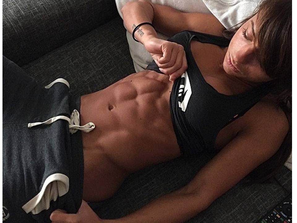 Sandra Prikker Abs Sexy Babes Gym Workout Routines - Youtube-9687
