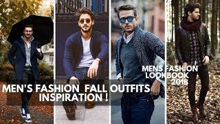 MEN\'S OUTFIT FALL INSPIRATION | Men\'s Fashion Lookbook Fall 2018 | Autumn Outfits Ideas