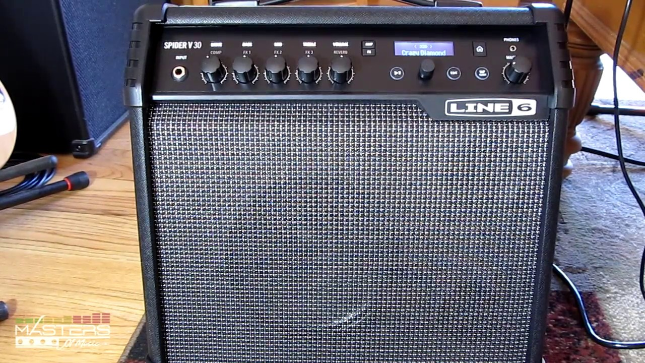 Line 6 Spider V Amp Review + Tips & Recordings