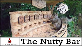 Squirrel Bar  X Carve CNC project  The Nutty Bar Thinking outside the nut!