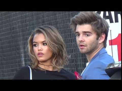 Jack Griffo and Paris Berelc spotted in Los Angeles