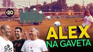 NA GAVETA CRAQUE ALEX - DESAFIO DE FALTA COM ZICO   Canal Zico 10