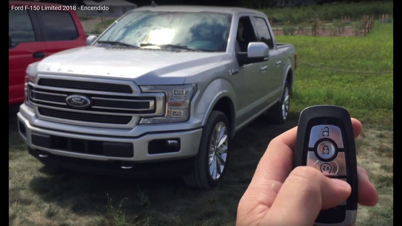 Ford F 150 Limited 2018 Encendido Youtube