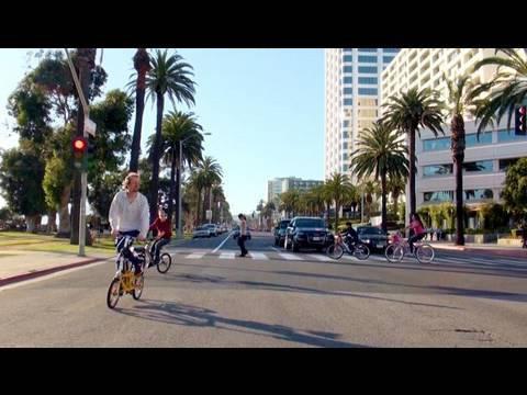 Famous Resort Town - Santa Monica in L.A., California
