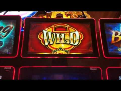 Dragon Spin Slot Machine Wiled Bonus $5 Max Bet - 동영상