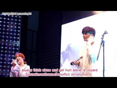 [Eng/Thai Lyrics] Sung Hoon & Song Ji Eun Singing 'Same' @ Sung Hoon's FM in Seoul