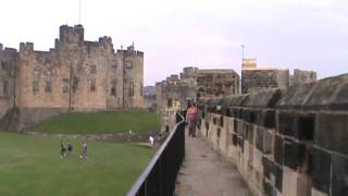 Alnwick Castle in Northern England
