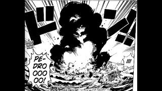 One Piece Chapter 877 Review  -  Pedro's Death