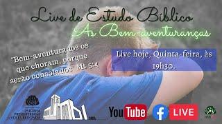 ???? Live do Estudo Bíblico Dia 20/08/2020