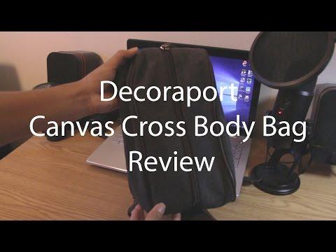 Decoraport Canvas Cross Body Bag Review