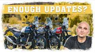 Worth It? Updates for the 2021 Royal Enfield Himalayan