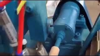 Dovetail Chisel handle making machine// Screwdriver turning knit handle machine// Tools Handle Lathe