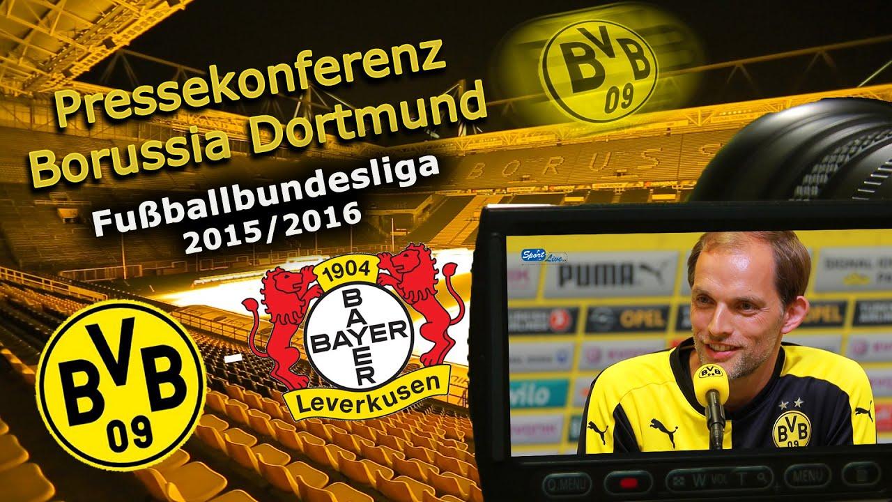 Borussia Dortmund - Bayer04Leverkusen: Pk mit P.-E. Aubameyang und Thomas Tuchel