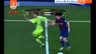 !!!!! YouTube - أروع أهداف  ميسي الأسطوري   !!!  أاروع هدف