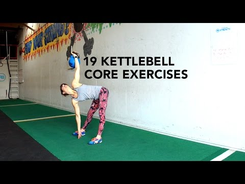 19 Kettlebell Core Workout Exercises