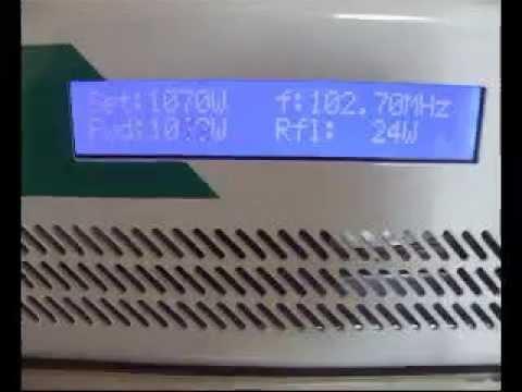 TX Mozart 1000 watt DB elettronica  di radio star Carbonia