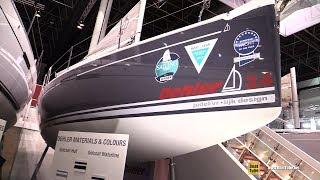 2018 Dehler 34 Sailing Yacht - Walkaround - 2018 Boot Dusseldorf Boat Show