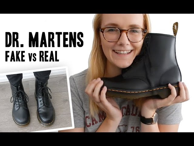 doc martens fake leather