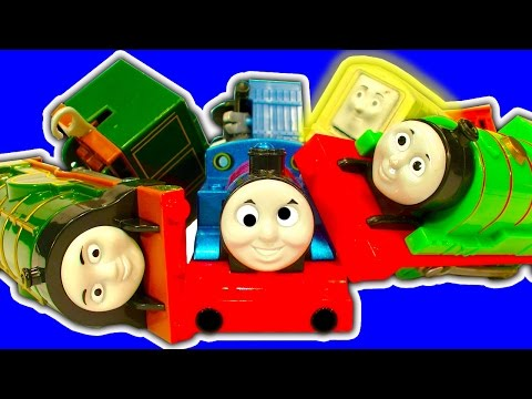 Thomas The Tank Demolition Derby Emily Percy Glowing Diesel Special Request Video