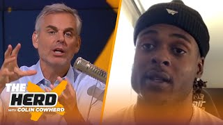 Davante Adams shares his reaction to Aaron Rodgers' frustration with Packers | NFL | THE HERD