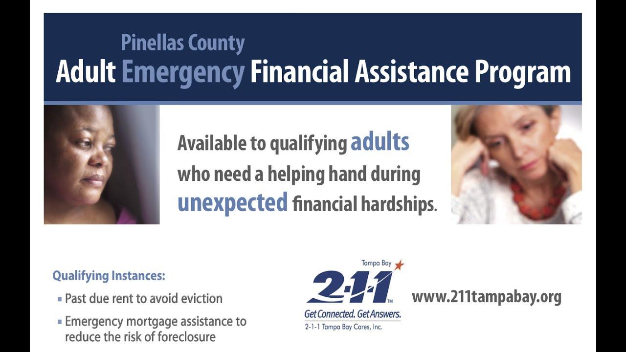 Adult Emergency Financial Assistance Program (AEFAP) – 211