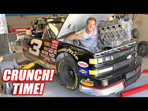 Dale Truck's Engine is OUT! + Assessing Leroy's Damage... Turns Out We Broke the Diff!