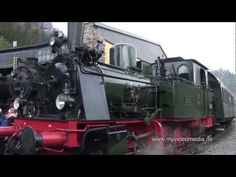 Eisenbahnromantik, steam locomotives, Gerolstein - Germany HD Travel Channel