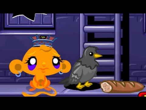 Monkey Go Happy Ninja Hunt  /  Счастливая  Обезьянка Поиски Ниндзяго