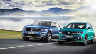 2019 Volkswagen T-Cross vs 2018 Volkswagen T-Roc