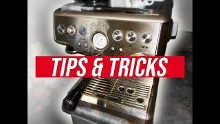 Breville Barista Express - TIPS, TRICKS, AND BASIC LATTE ART