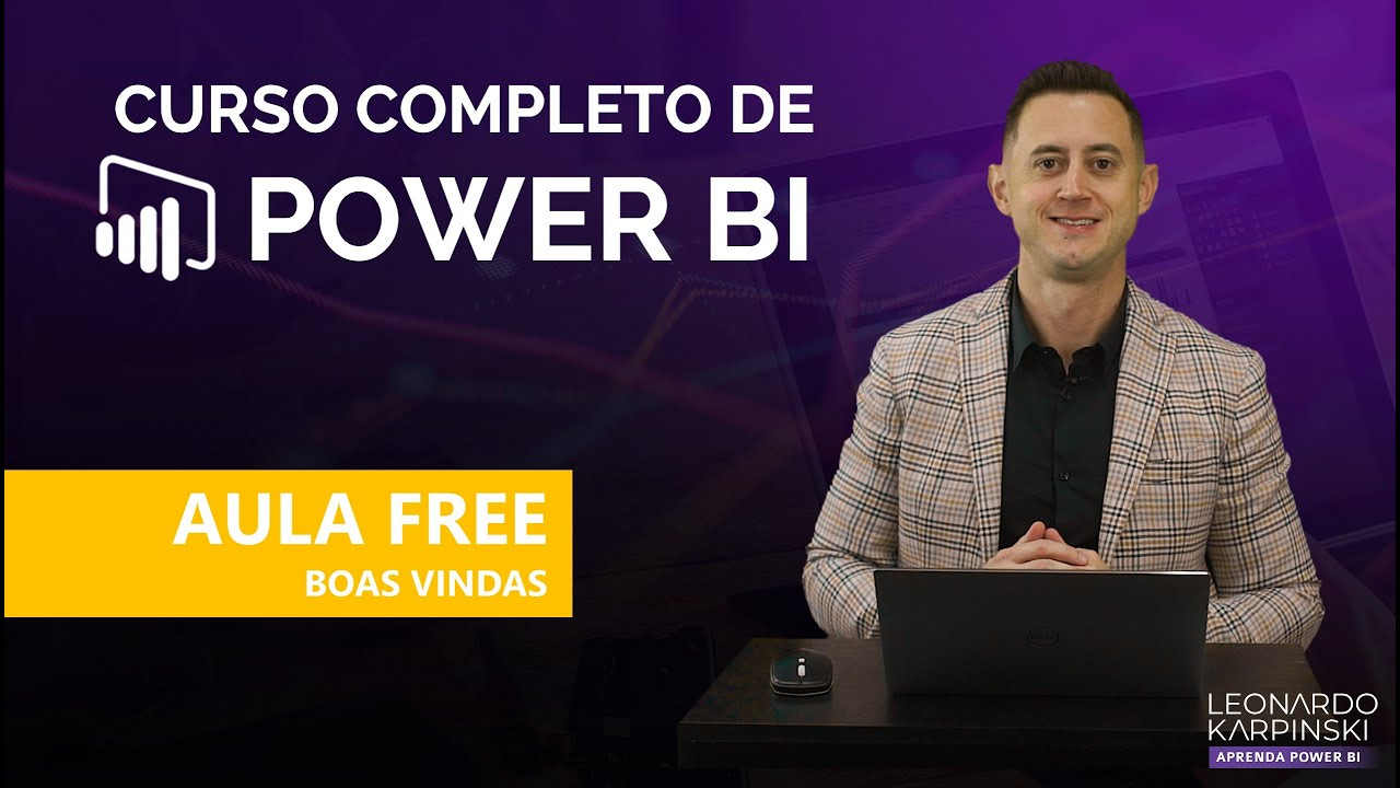 Abertura do Curso Online Completo de Power BI para Analistas