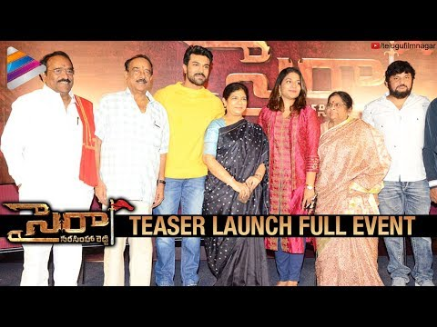 Sye Raa Narasimha Reddy Teaser Launch Full Event   Chiranjeevi   Ram Charan   Surender Reddy