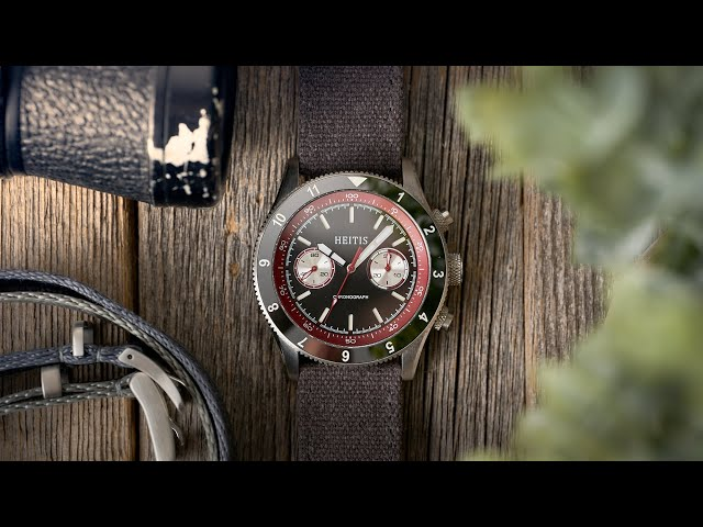 Heitis Chronograph V2 ST19 Video Review - Watch Clicker