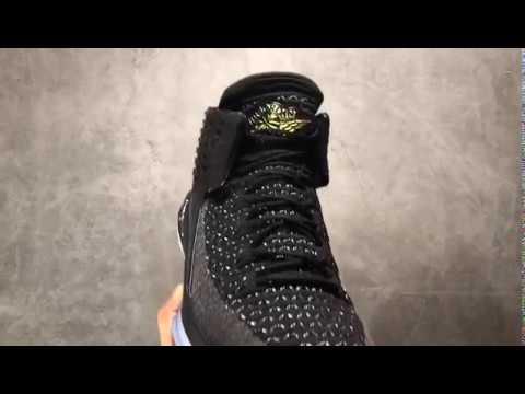 Air Jordan 32 Black Cat Basketball Shoes