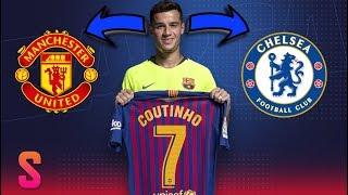 Rumor Transfer : Manchester United & Chelsea Bersaing Dapatkan Philippe Coutinho