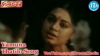 Yamuna Thatilo Song - Dalapathi Movie Songs - Rajnikanth - Mammootty - Shobana