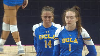 UCLA women's volleyball fights off Oregon State comeback in five-set victory