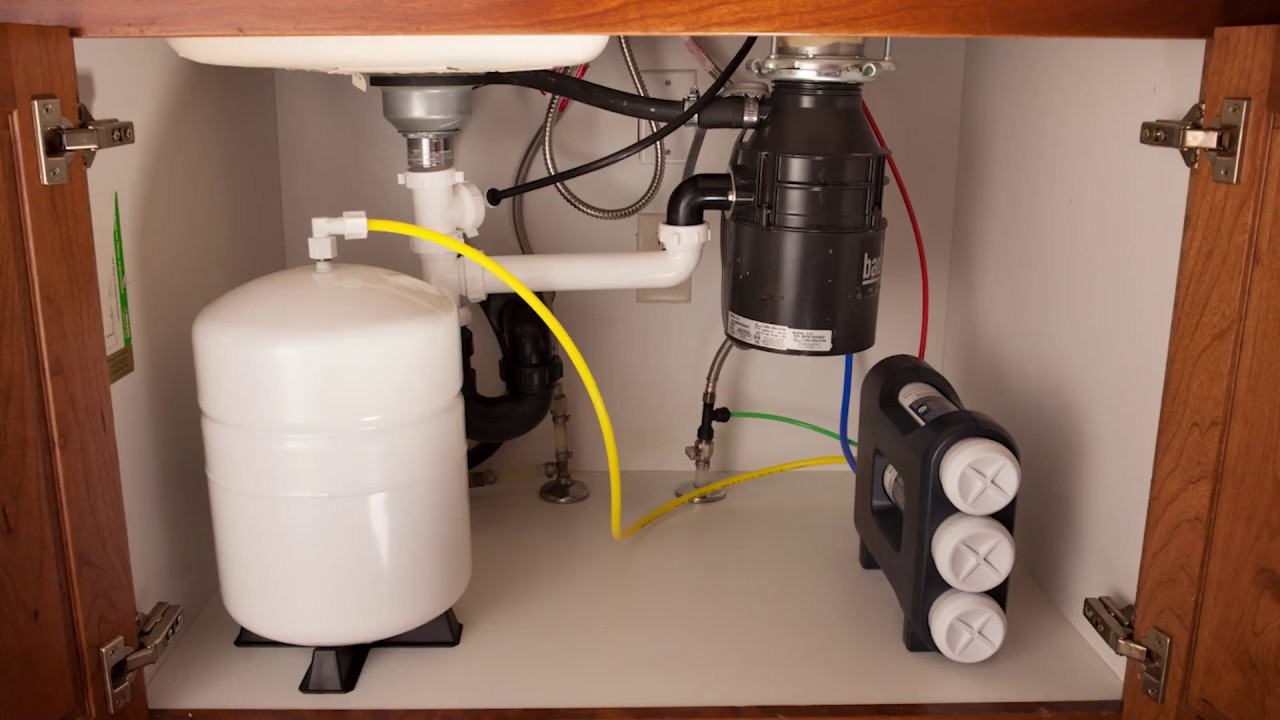 Reverse Osmosis System Water Filter Installation Video